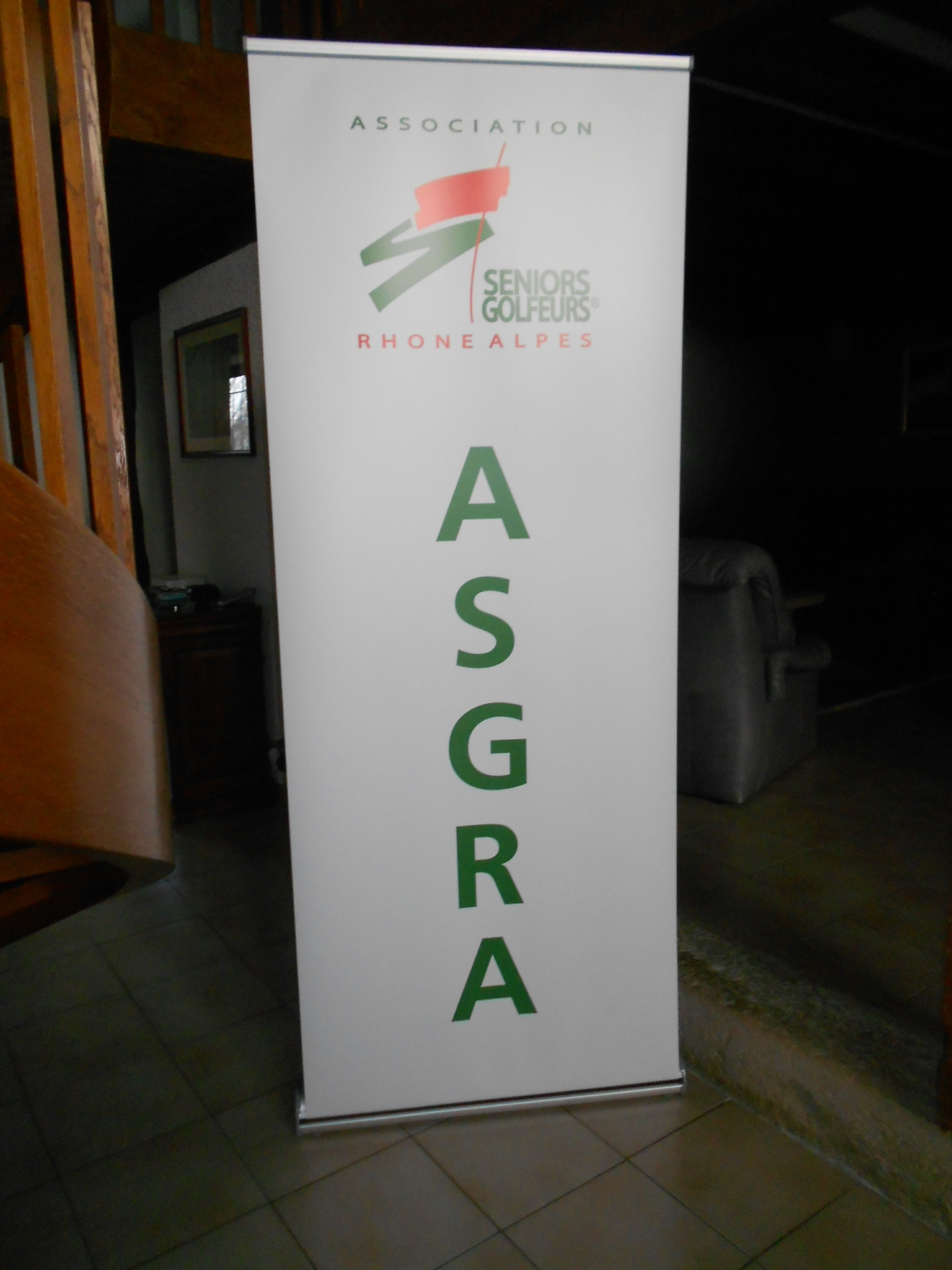 L'ASGRA au salon du golf